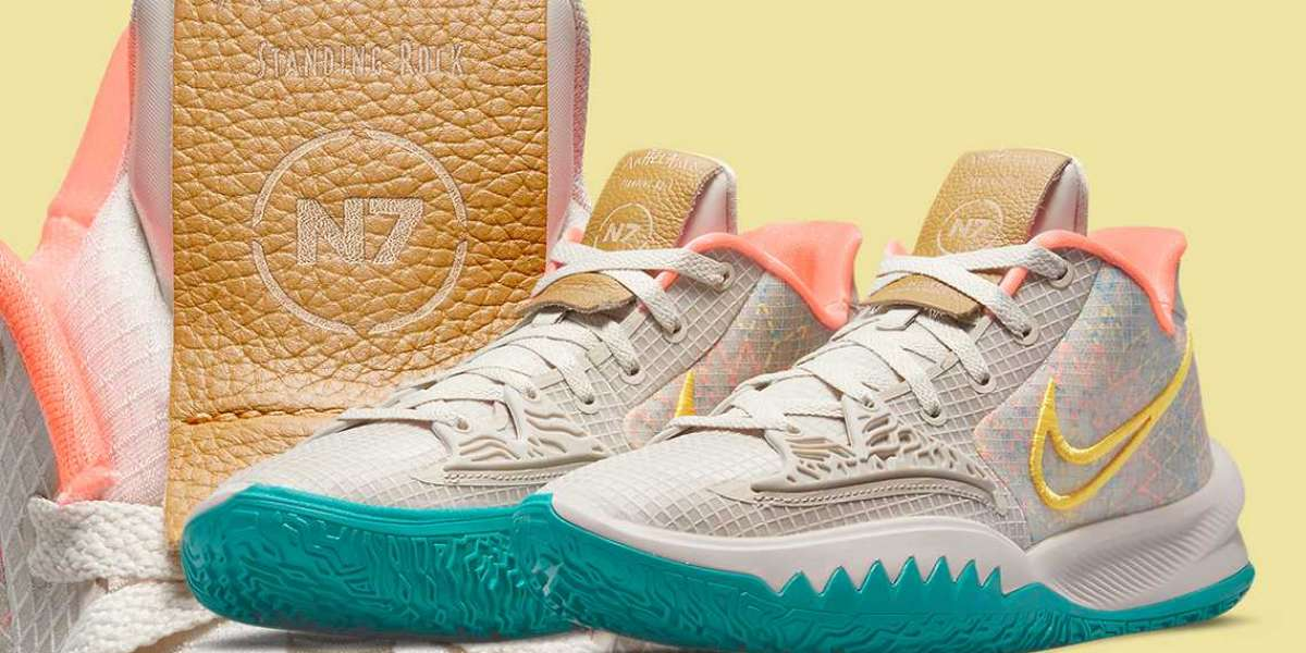 """CW3985-005 Nike Kyrie Low 4 """"N7"""" will be unveiled in the 2021 N7 series"""