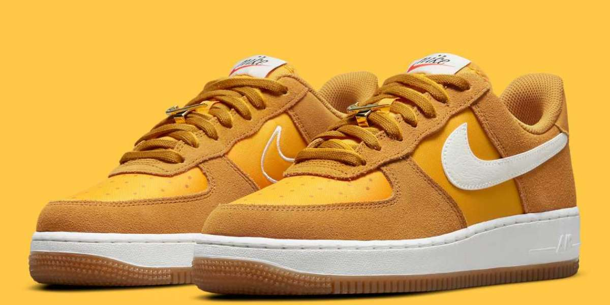 """Nike Air Force 1 Low """"First Use"""" DA8302-700 release information"""