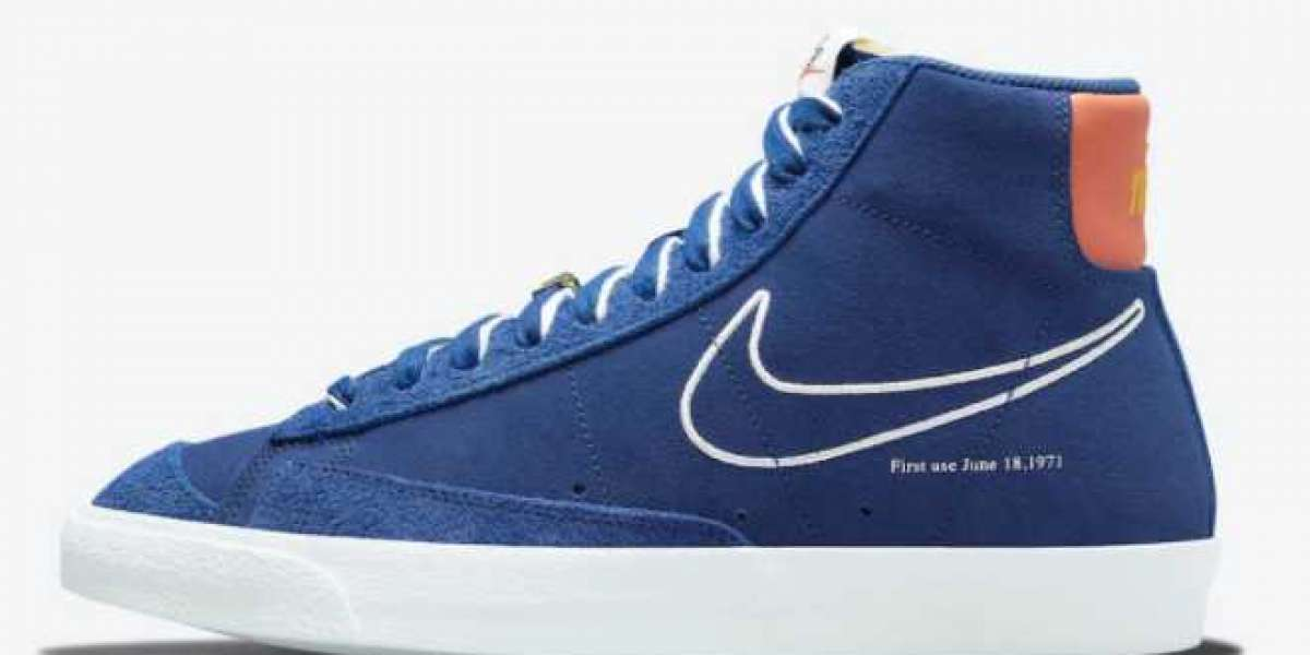 """2021 Most Popular Nike Blazer Mid '77 """"First Use"""" For Sale DC3433-400"""